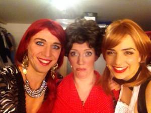 Fabienne, Brigitte und Irina!